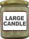 Patchouli Candle (large size)